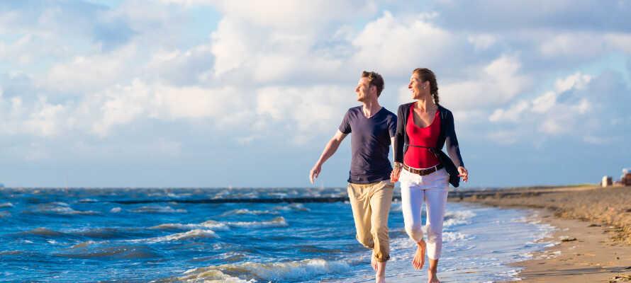 Idyllisk placering væk fra byens larm, og samtidig tæt på de smukke strande ved vestkysten.