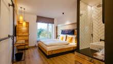 Et eksempel på et av hotellets Comfort dobbeltrom.