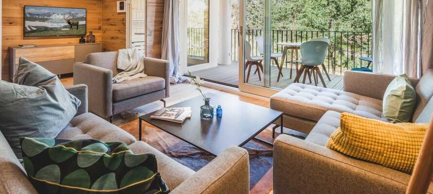 Im Mariandl am Meer gibt es Apartments für Paare und Familien bis zu 6 Personen.