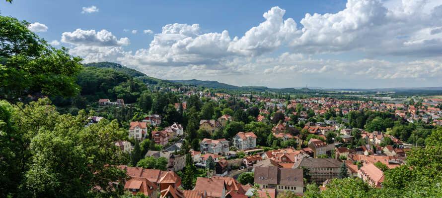 Nyd en herlig ferie på det 3-stjernede superior spahotel Kurfürstenhof i centrum af Blankenburg.