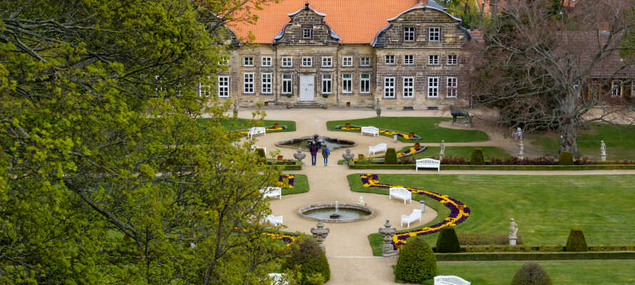 Besøg det karakteristiske Blankenburg-slot, som er det største overlevende 'Welfen'-slot.