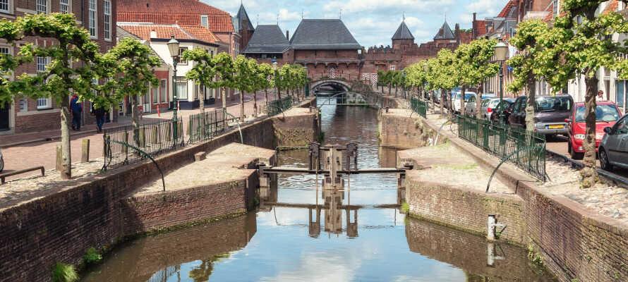 Beliggenheden giver jer også gode muligheder for bl.a. at besøge den historiske middelalderby, Amersfoort.