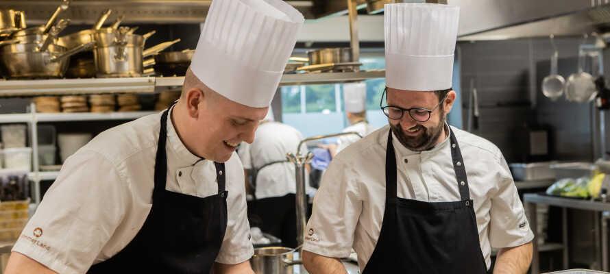 HimmerLand har hele tre skønne restauranter, som hver især tilbyder en række udsøgte og varierede retter.