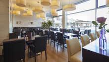 I hotellets restaurang äter ni goda rätter från regionen