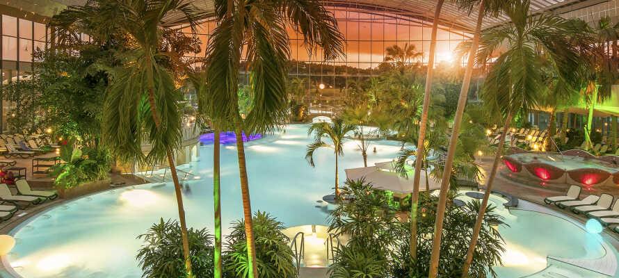 Under opholdet er det helt oplagt at besøge byens herlige termiske bade.