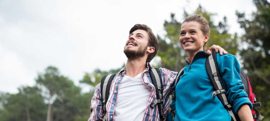 Den smukke alperegion er ideel for aktiv ferie, hvad enten I er til vandre-, cykel- eller skiture.