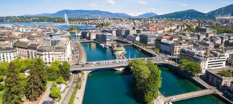 Oplev den schweiziske verdensby Genève med et herligt 4-stjernet ophold i ægte Hilton-kvalitet!