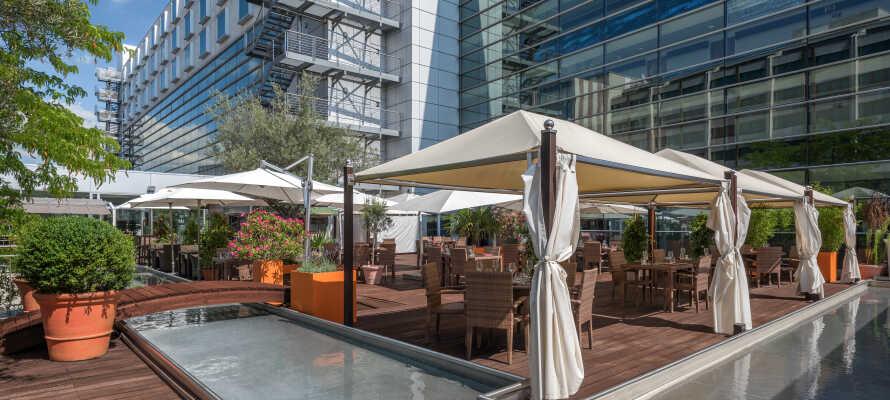 Hotellet har en særlig elegance, som indbyder til afslapning og hygge.