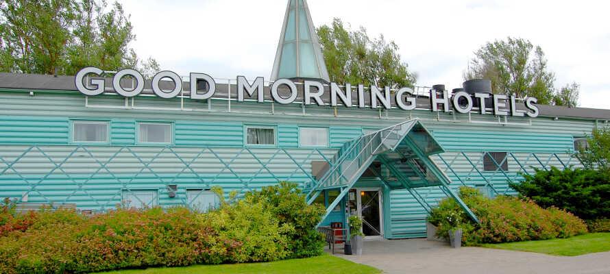 Boka ett billigt och bekvämt uppehåll på Good Morning Örebro.