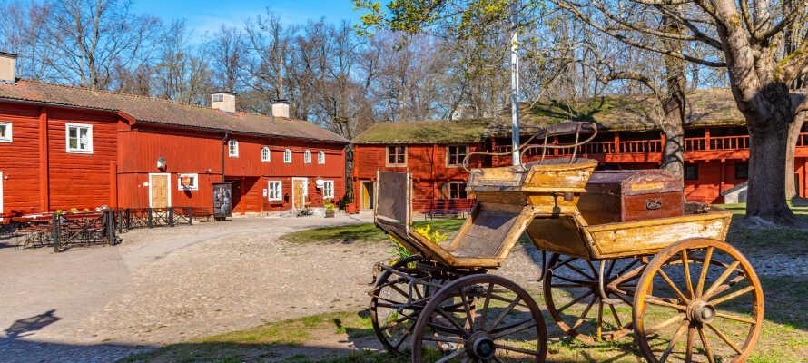 Åk på en lärorik utflykt till det historiska friluftsmuseet Wadköping.