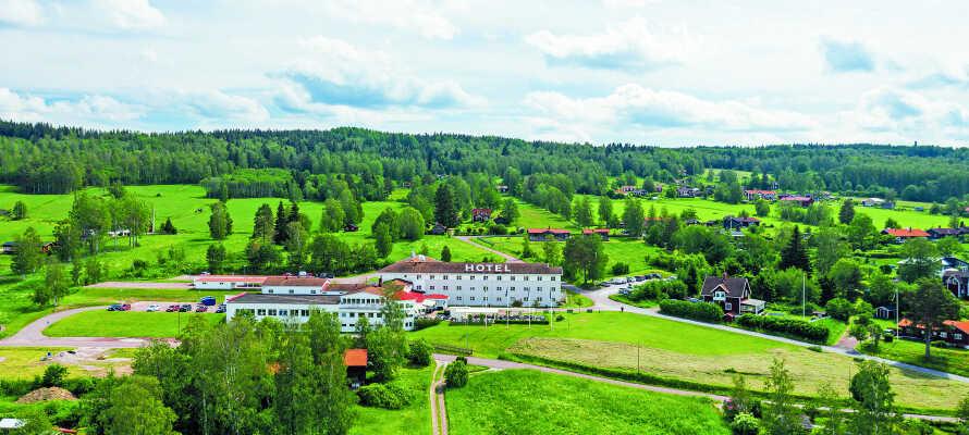 Best Western Hotell Lerdalshöjden har en skøn beliggenhed i Rättvik, og tilbyder en herlig udsigt over Siljan-søen.