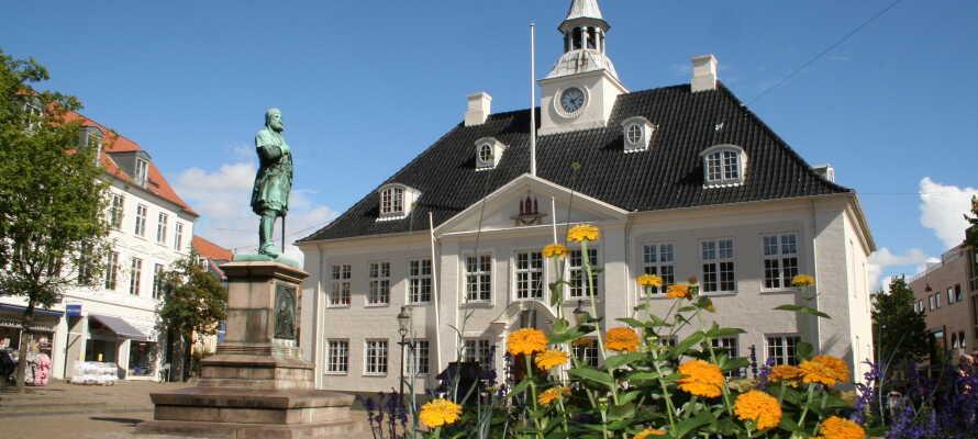 Motel X tilbyder et billigt og roligt udgangspunkt for en ferie med oplevelser i Randers og omegn.