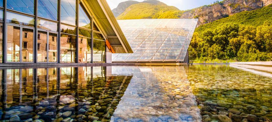 Kør en tur til det spændende og moderne videnskabsmuseum, MUSE.