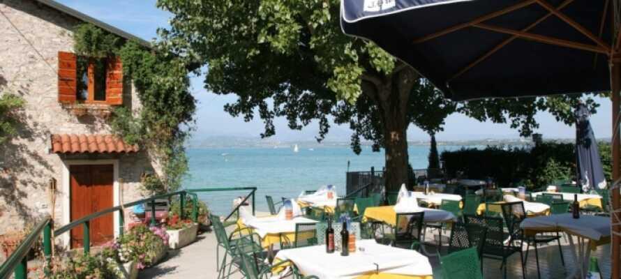 Smag den lokale menu i Camping Wien's restaurant