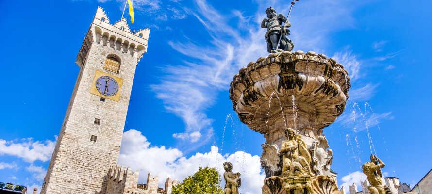 I har bare en kort køretur til den smukke hovedby, Trento, som byder på masser af kultur, historie og shopping.
