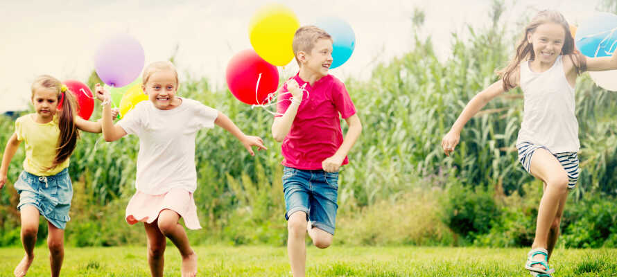 Opholdet inkluderer en herlig Kids Club for børn i alderen 3 - 12 år - perfekt for en familieferie!