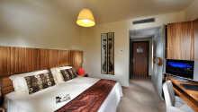 Værelserne er moderne og komfortabelt indrettet.