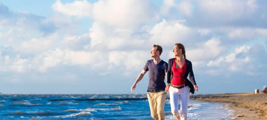 Nyd ferielivet med masser af frisk havluft på stranden.