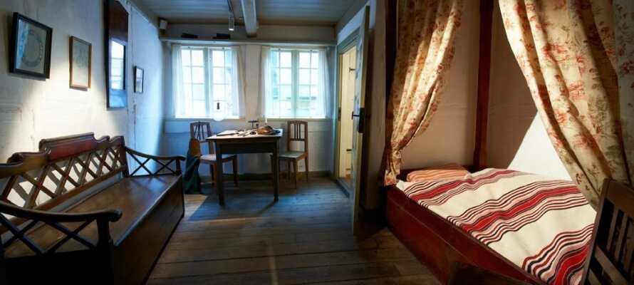 Gå i nasjonalpoetens fotspor. Opplev H. C. Andersens Odense og start i forfatterens barndomshjem