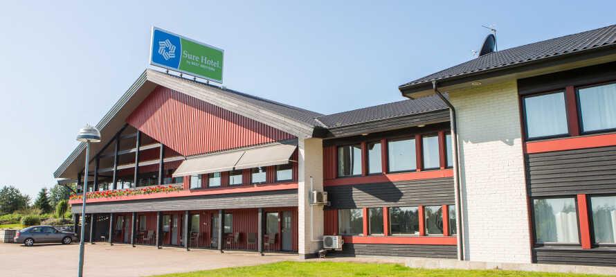 Nyd et billigt hotelophold centralt i Småland med masser af aktiviteter for hele familien.