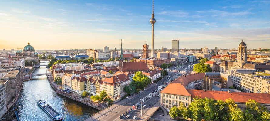Aga's Hotel har en god beliggenhed i det østlige Berlin, og tilbyder en billig og hyggelig base for storbyferie med masser af oplevelser i Berlin.