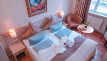 Et eksempel på et af hotellets Komfort dobbeltværelser