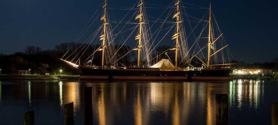 Tallshippet Passat er helt klart et must-see monument i Lübeck, hvis dere liker det maritime.