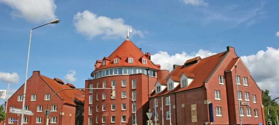 Overnatt på Lübecker Hof og bo i kort avstand til handlebyen Lübeck.