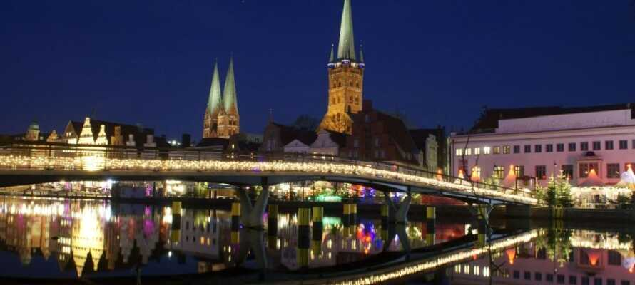 Lübeck i juletiden er intet mindre enn magisk, og julemarkedet bør oppleves.