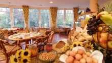 Genießen Sie gutes Essen im Hotelrestaurant.