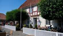 Charmiga Hotel Ringkøbing ligger vackert beläget vid Ringkøbing Fjord
