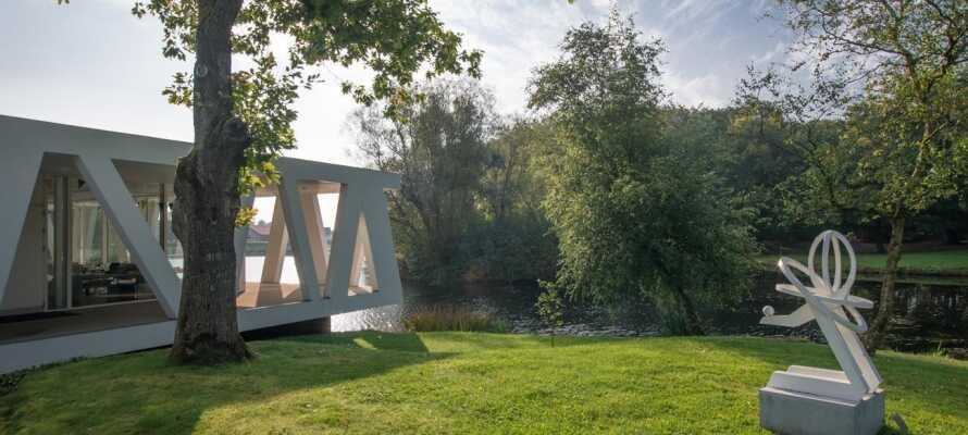 Erleben Sie den Kunstpavillon des weltberühmten Architekten Henning Larsen in Videbæk.
