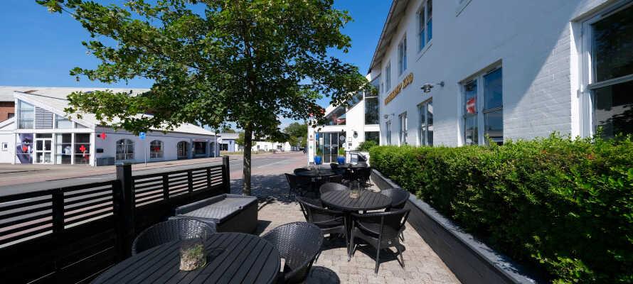 Velkommen til Hotel Hjallerup Kro, som ligger midt i Hjallerup!