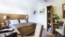 Et eksempel på et af hotellets dobbeltværelser