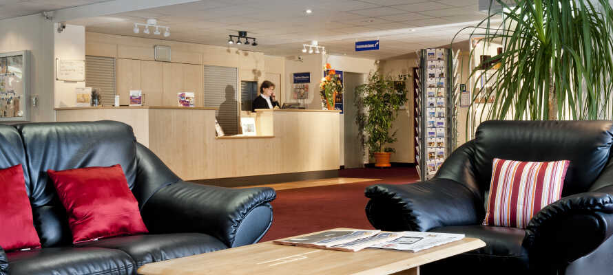 Hotellets nydelige innredning innbyr til en ferie med avslapning og samvær