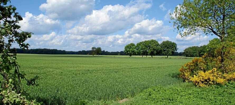 Der 1500 km2 Park ist geschützt und verfügt über ein Netz von Wander- und Radwegen.