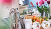 Få en god start på dagen med hotellets morgenbuffet
