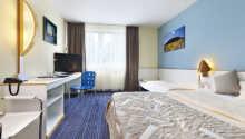 De nydelige værelser tilbyder behagelige rammer for opholdet