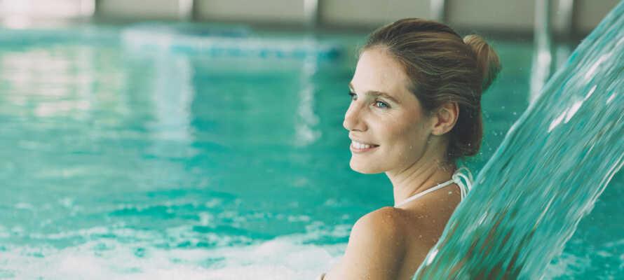 Promenera två minuter från hotellet och njut av spa och wellness på Eurotherme.
