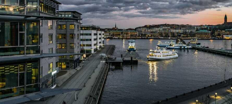 Entdecken Sie Göteborg mit einem schönen Aufenthalt zentral in der schönen Stadt.