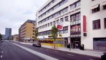 Hotellet ligger centralt beläget i Göteborg