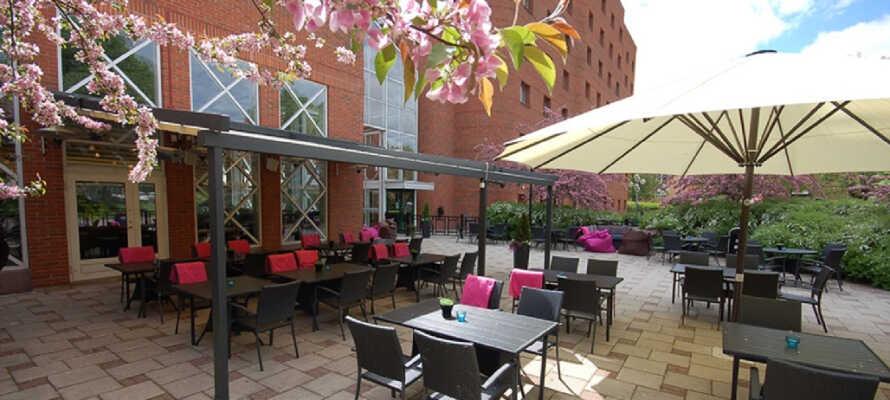 Bo centralt i Borlänge på Quality Hotel Galaxen - tæt på byens seværdigheder.