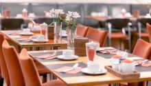 Nyd et ophold med masser af dejlig mad, både morgen og aften.