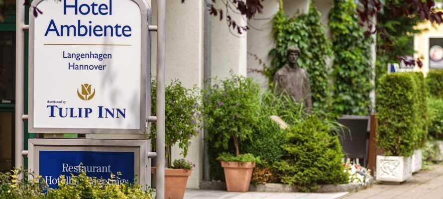 Dette hotel ligger i Langenhagen, like nord for Hannover i rolige og komfortable omgivelser.