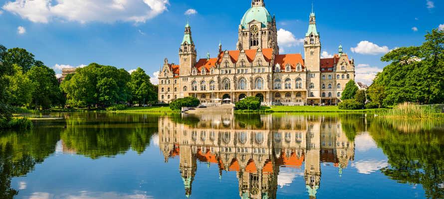 Dere har et supert utgangspunkt for å oppleve og utforske Hannovers mange historiske og kulturelle severdigheter.