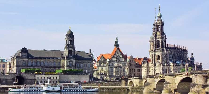 Kulturbyen Dresden har et hav av opplevelser for både store og små. Historie, kultur og kos forenes i vidunderlige omgivelser.