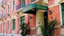 Hotel Amadeus ligger kun noen få kilometer fra sentrum av Dresden