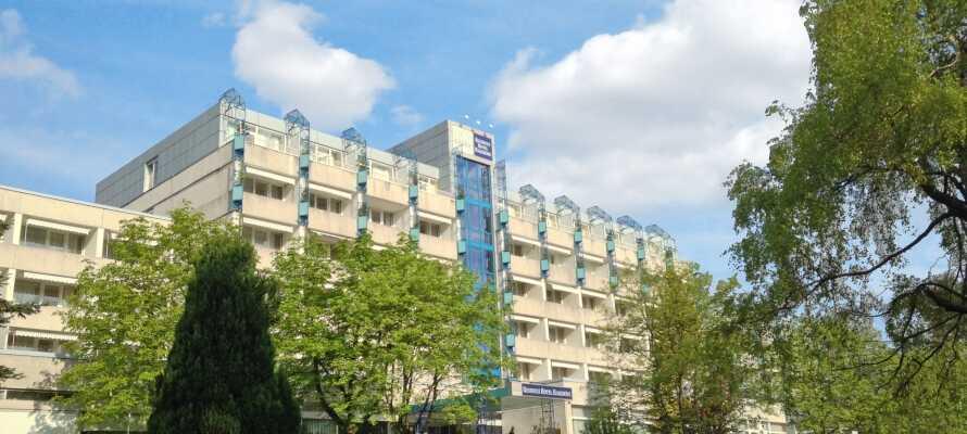 Hotellet ligger i grønne omgivelser i Harzen, i kort afstand fra ferieområdet Hahnenklee.