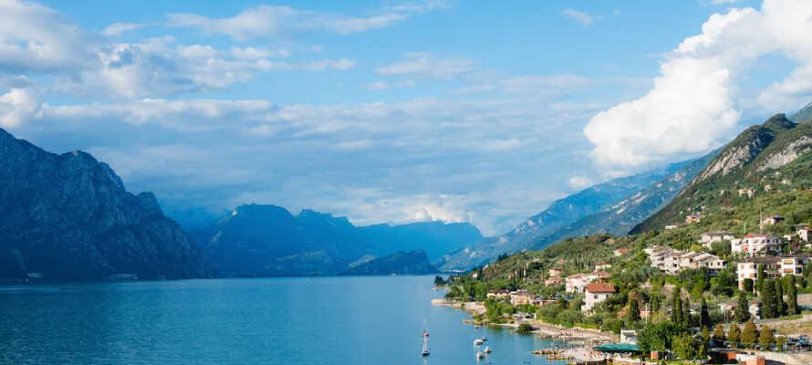 Det vackra området runt Gardasjön bjuder på massor av möjligheter och aktiviteter för hela familjen.