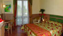 Hotellets standardværelser sørger for I har en god base under Jeres ophold ved Gardasøen